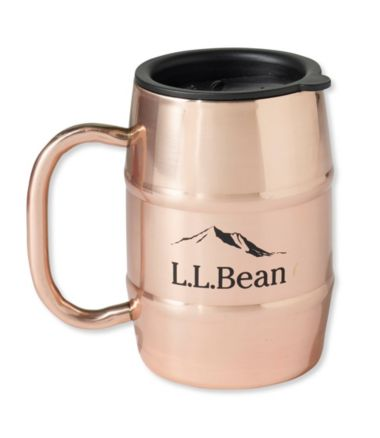 L.L.Bean Double Barrel Copper Mug