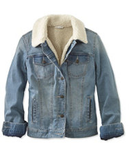 Signature Sherpa-Lined Denim Jacket