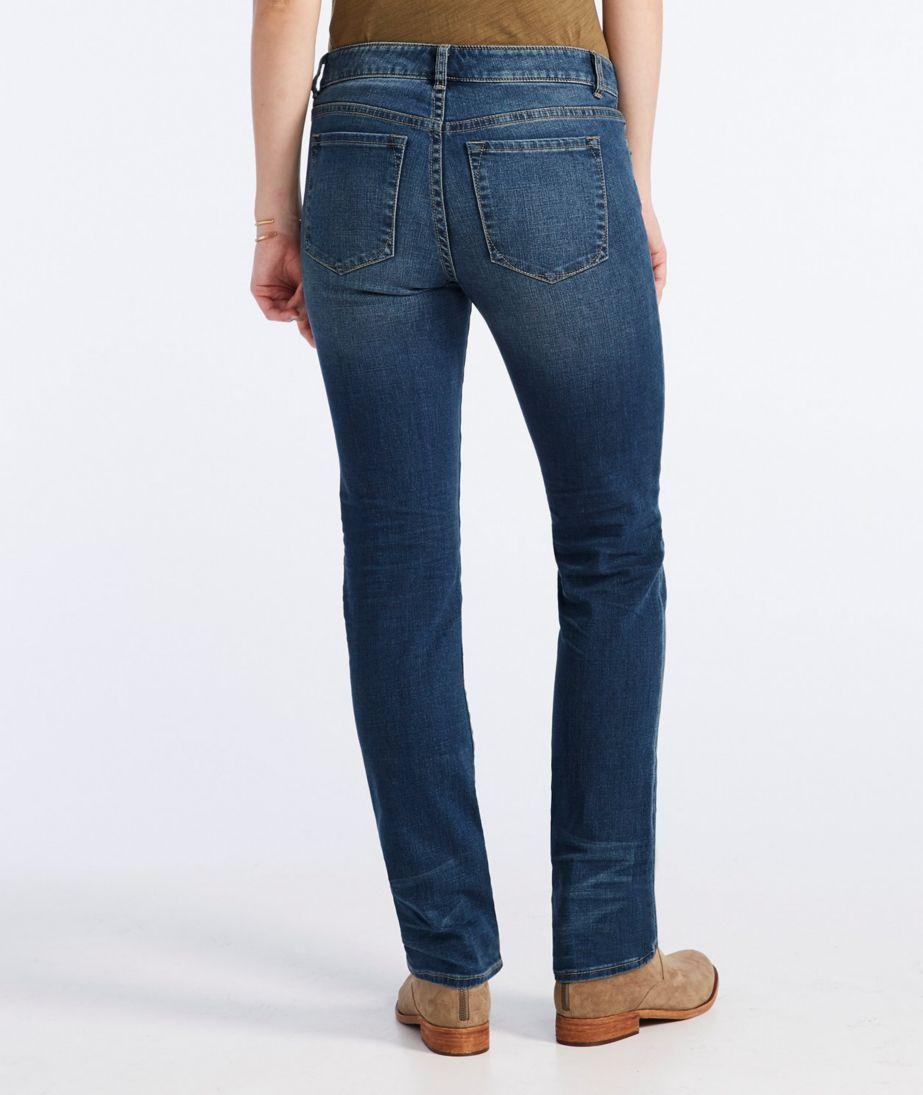 Signature Straight-Leg Jeans