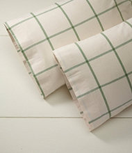 Ultrasoft Comfort Flannel Pillowcases, Windowpane Set of Two