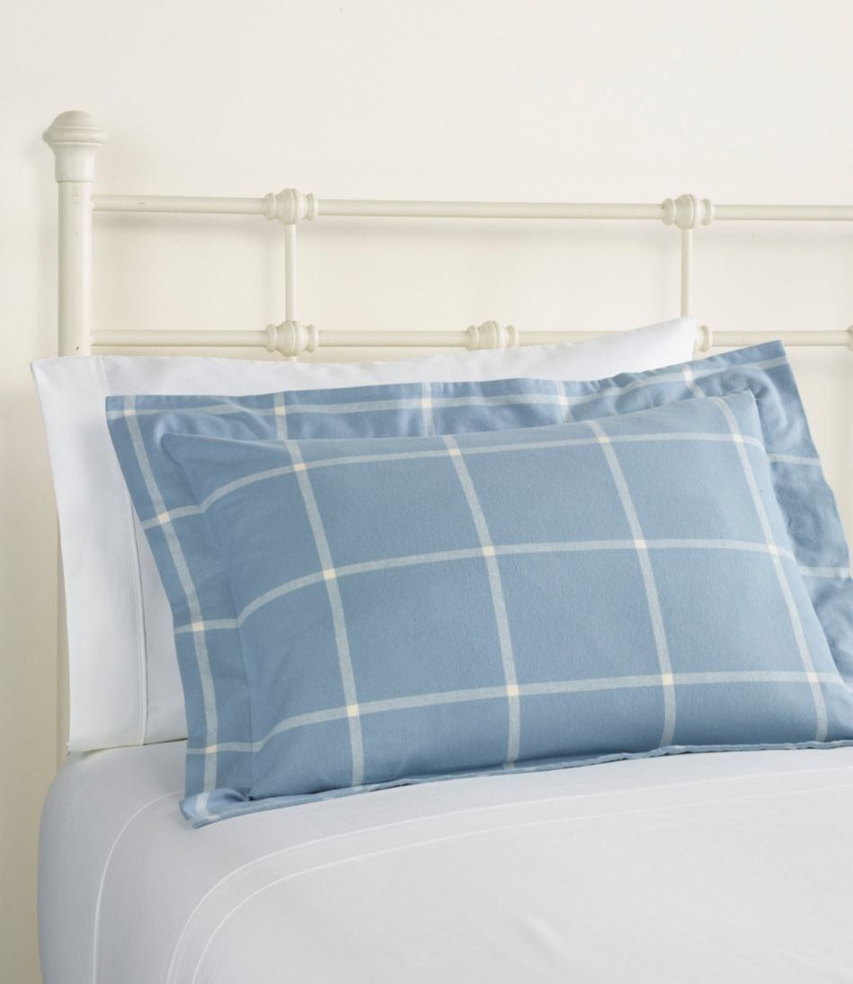 Ultrasoft Comfort Flannel Comforter Cover Collection, Windowpane