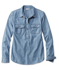 Signature Denim Popover Shirt