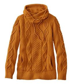 Women's Signature Cotton Funnelneck Sweater