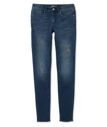 Signature Distressed Skinny Jeans, Modern Fit