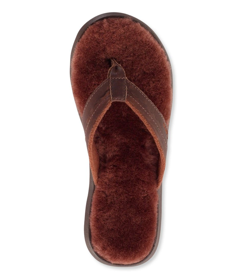 Wicked Good Slippers, Leather Flip-Flops-9723