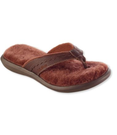 Women's Wicked Good Slippers, Leather Flip-Flops