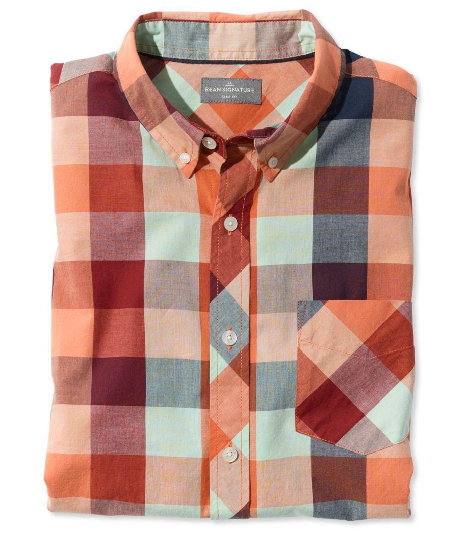 Signature Hunter's Plaid Five-Color Shirt