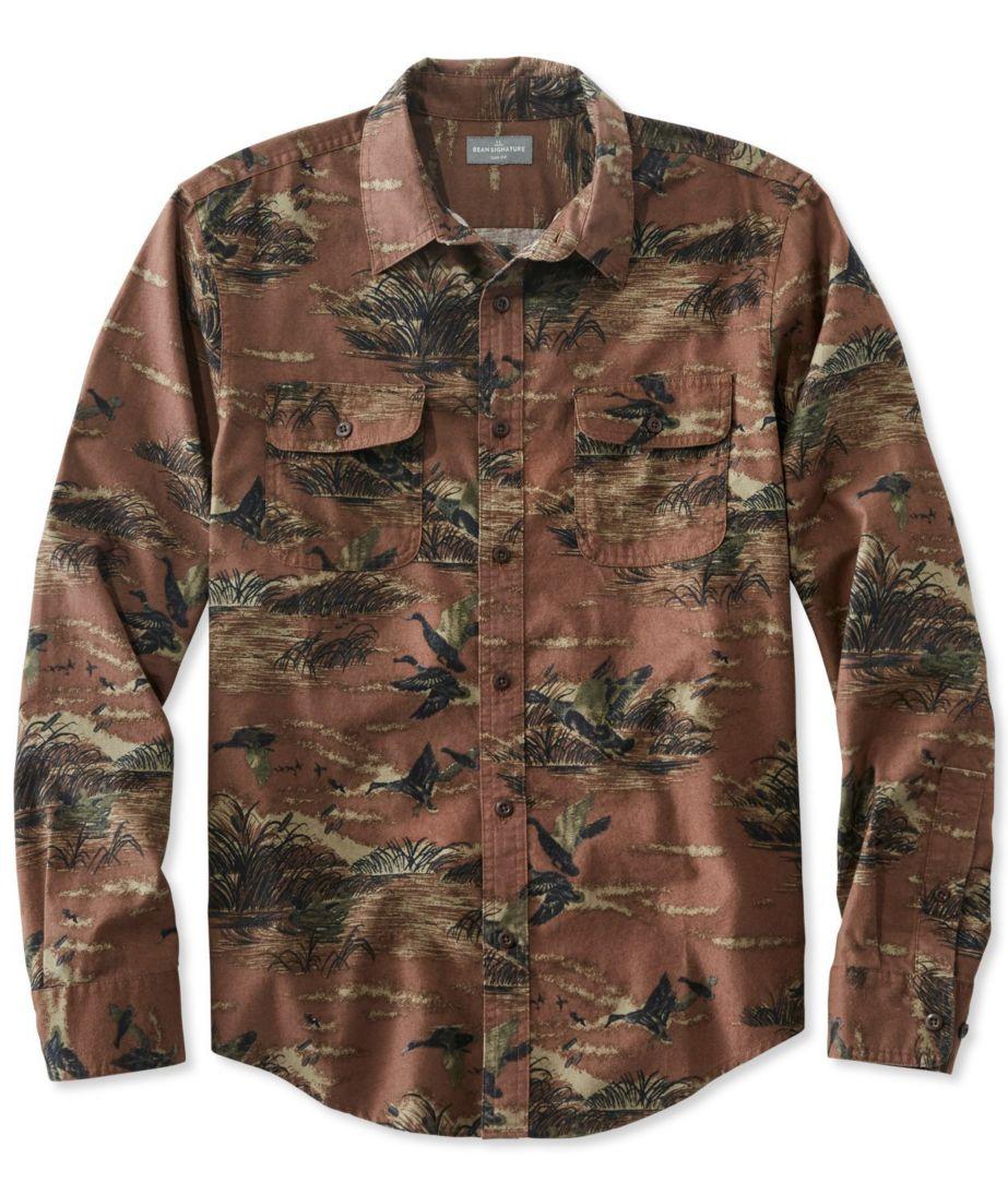 Signature Castine Flannel Shirt, Print