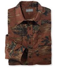 Men's Signature Castine Flannel Shirt, Print