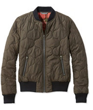 Signature Quilted Bomber Jacket