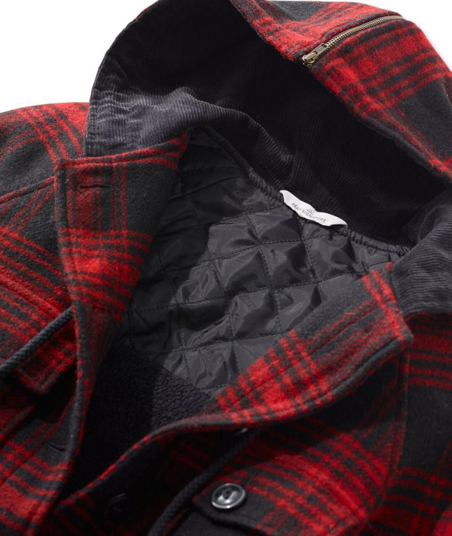 Signature Sherpa-Lined Heritage Jacket, Plaid