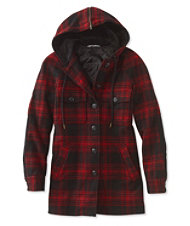Signature Sherpa-Lined Heritage Jacket, Plaid