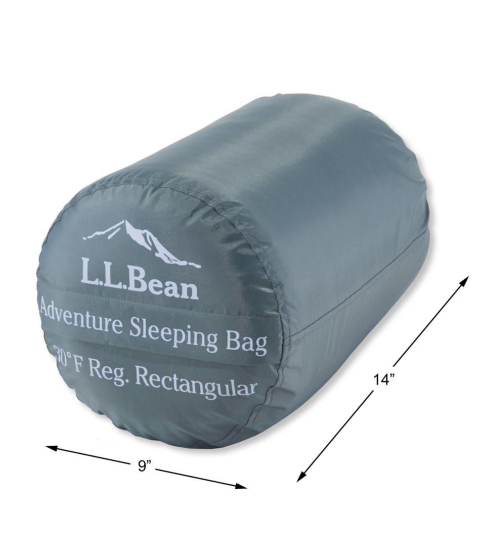 Adventure Sleeping Bag, Rectangular, 30°