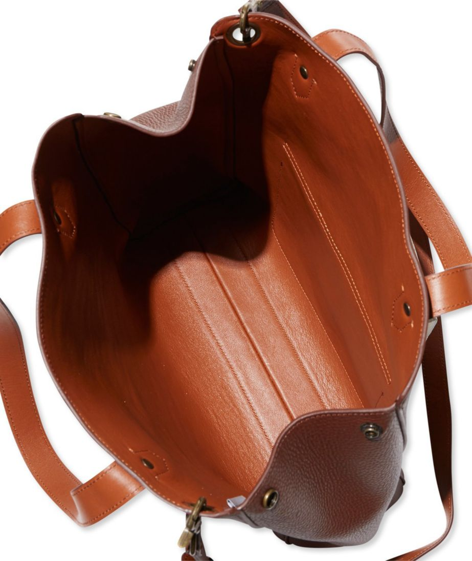 Double-Faced Leather Tote