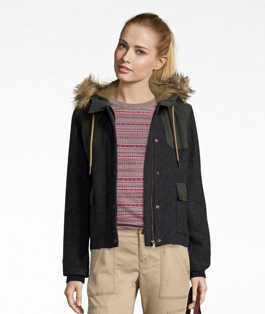 Signature Waxed Cotton/Wool Jacket