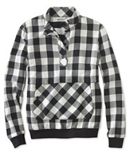 Signature Popover Flannel Shirt, Check