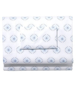 280-Thread-Count Pima Cotton Percale Sheet Set, Print