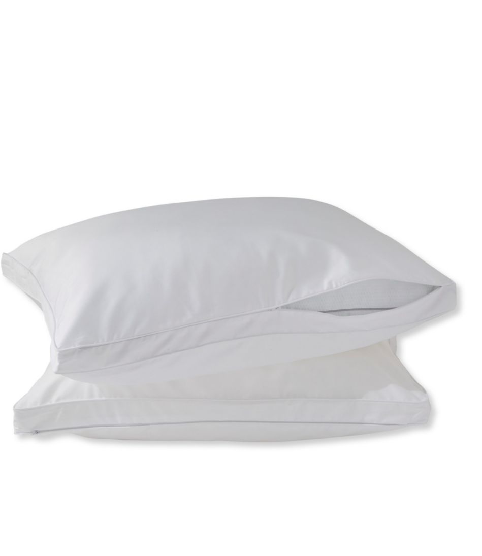 700-Fill Power Pillow Protector, Set of Two