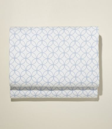 Premium Supima Flannel Sheet, Fitted Print