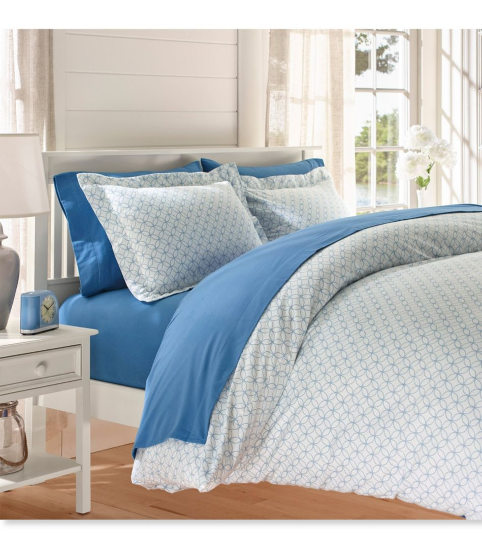 Premium Supima Flannel Comforter Cover Collection, Print