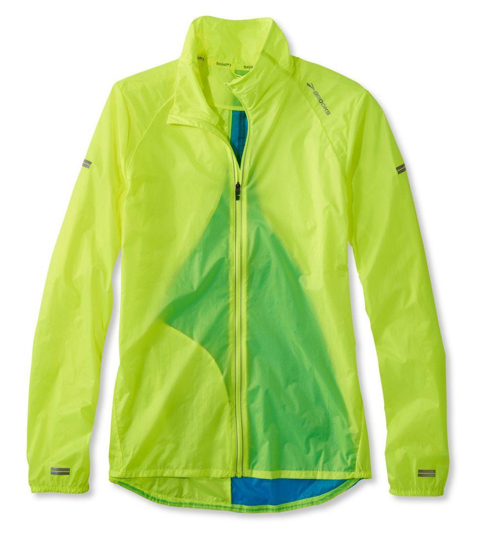 Brooks Lsd Mens Running Jacket Lightweight Windproof Water Resistant Sports Coat Jackets & Vests Men's Clothing