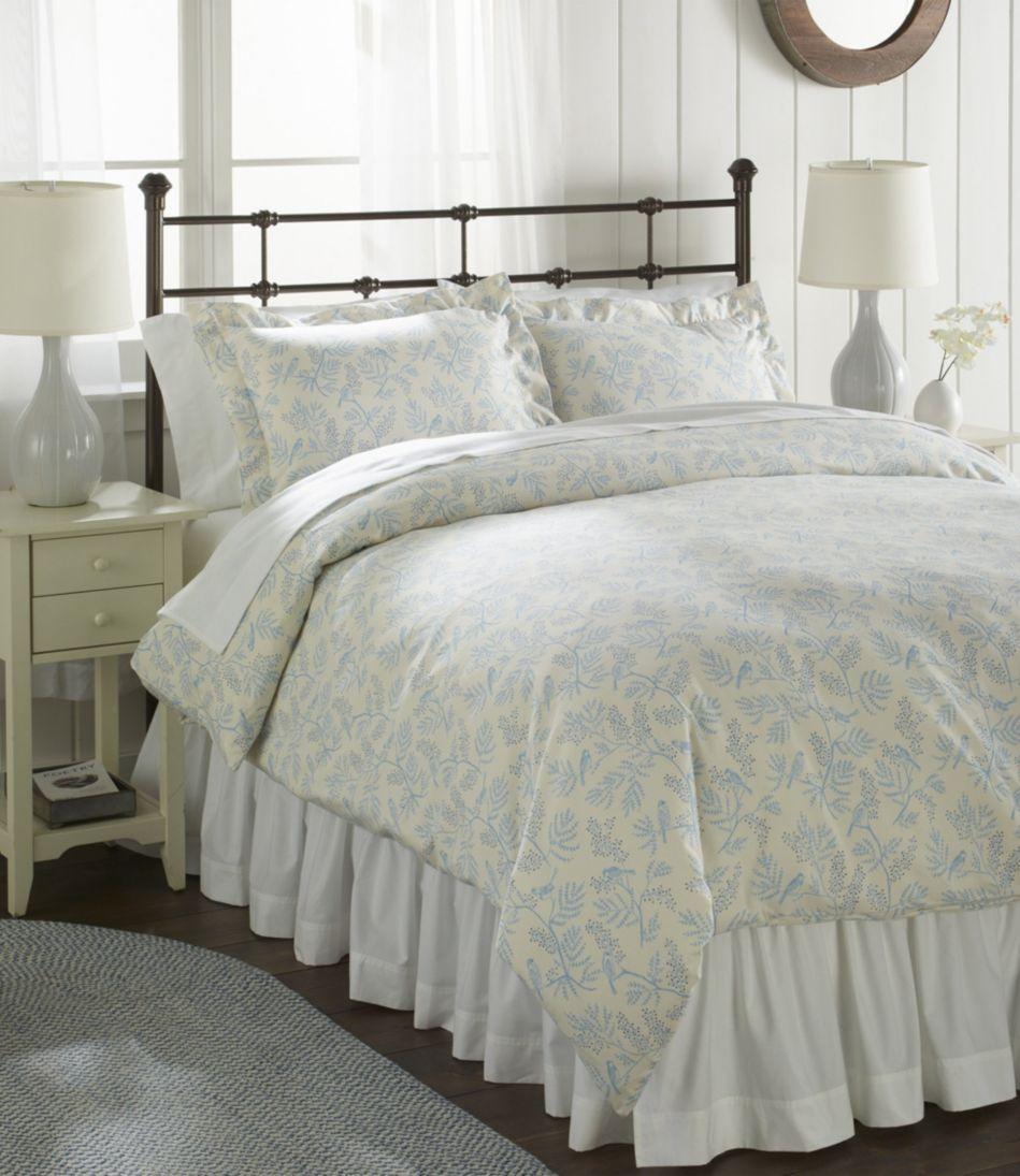 Botanical Flannel Comforter Cover