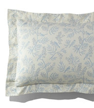 Botanical Flannel Sham