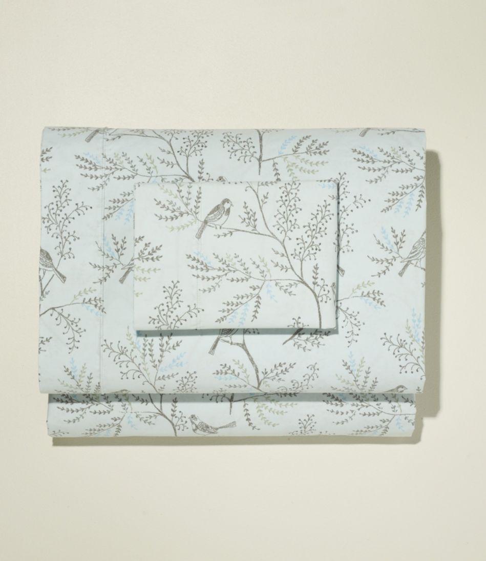 Botanical Percale Sheet Set