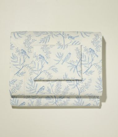 Botanical Percale Sheet Set