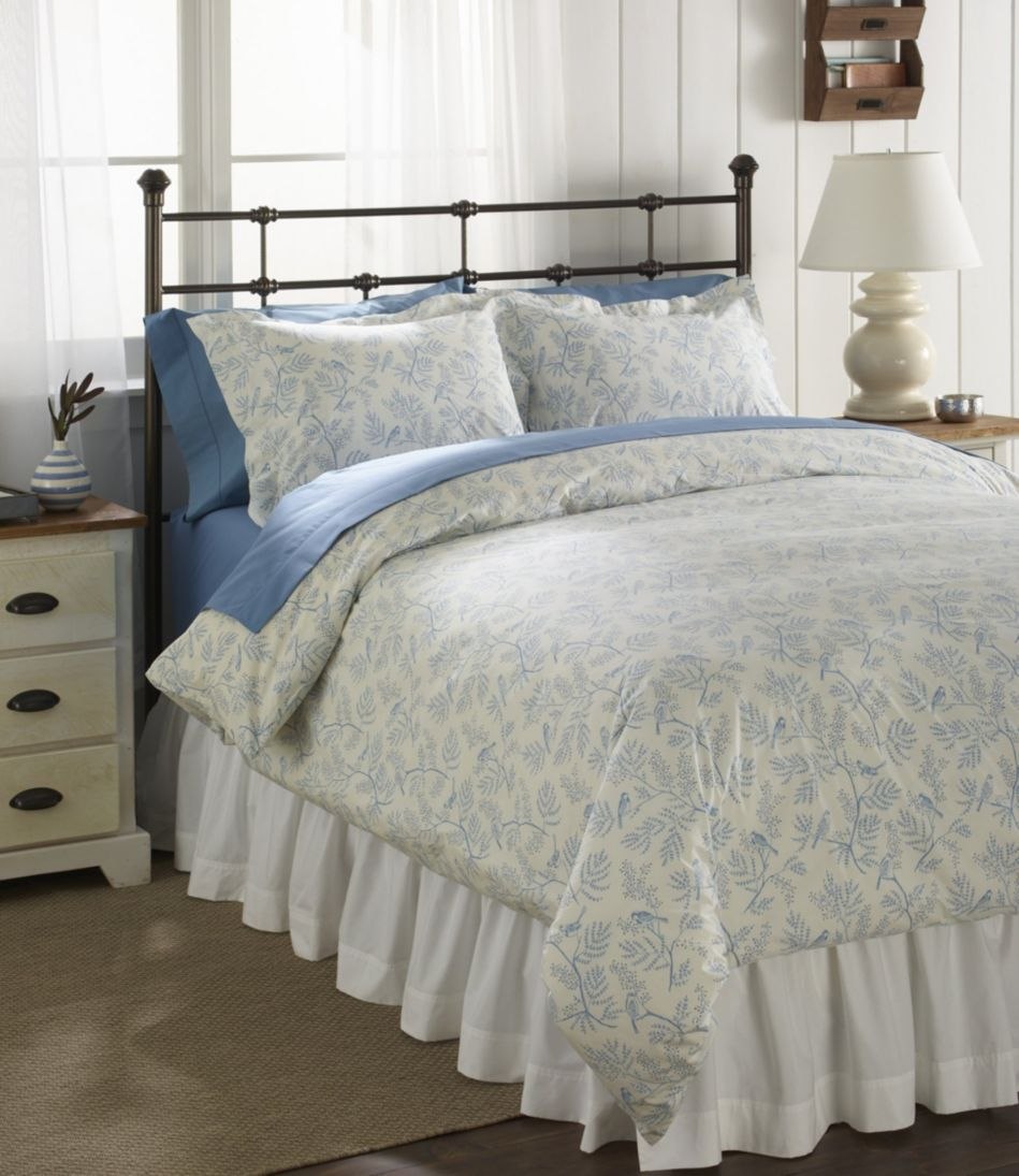 Botanical Percale Comforter Cover