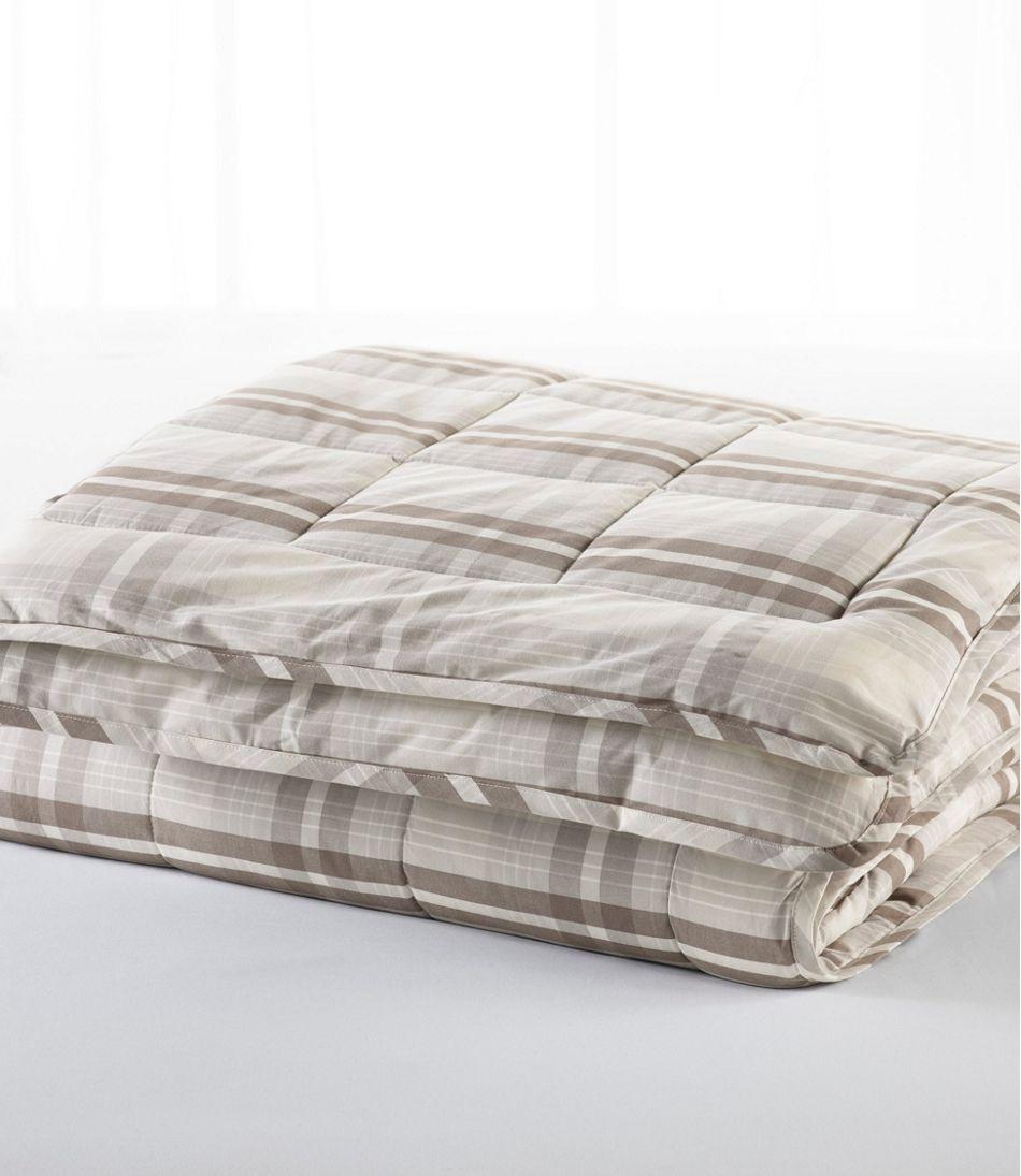 Ultrasoft Cotton Comforter, Plaid