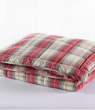 Ultrasoft Cotton Comforter, Plaid