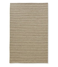 Striped Wool Flat-Weave Rug