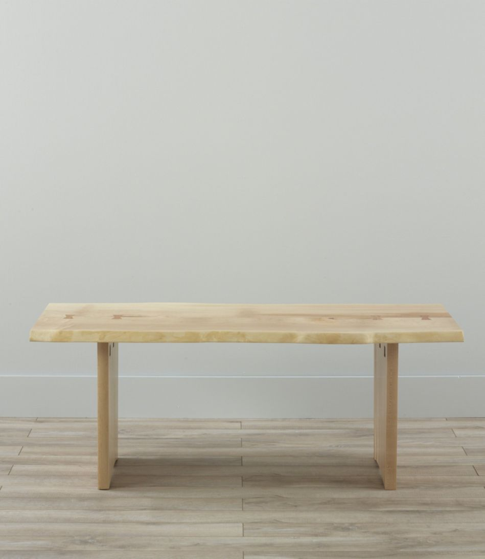 Rustic Edge Coffee Table