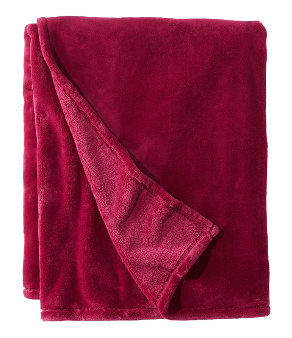 Wicked Plush Throw, Mountain Red, large image number 0