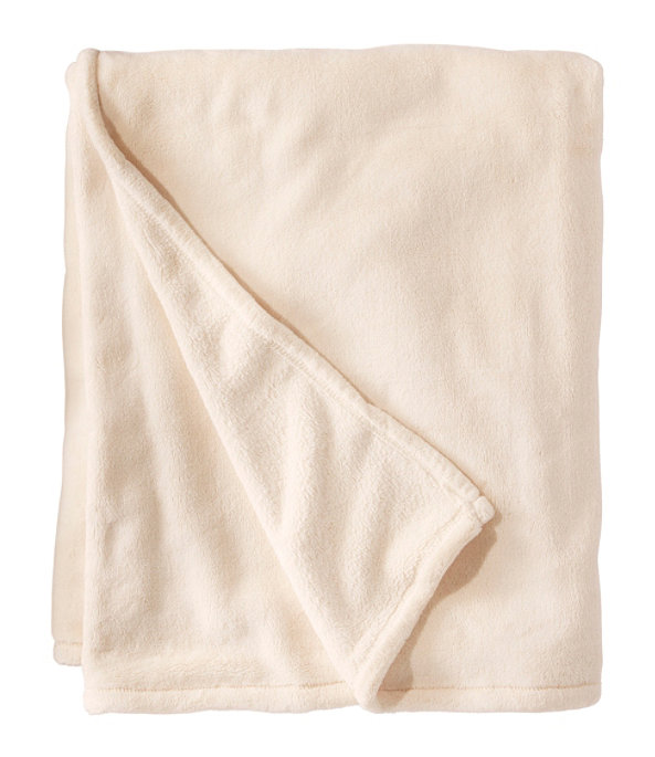 Wicked Plush Throw, Antique White, large image number 0