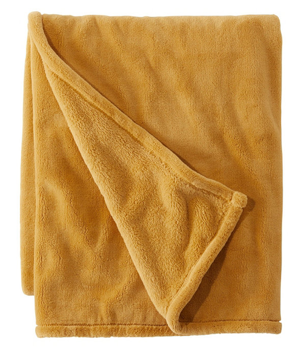 Wicked Plush Throw, Harvest Gold, large image number 0