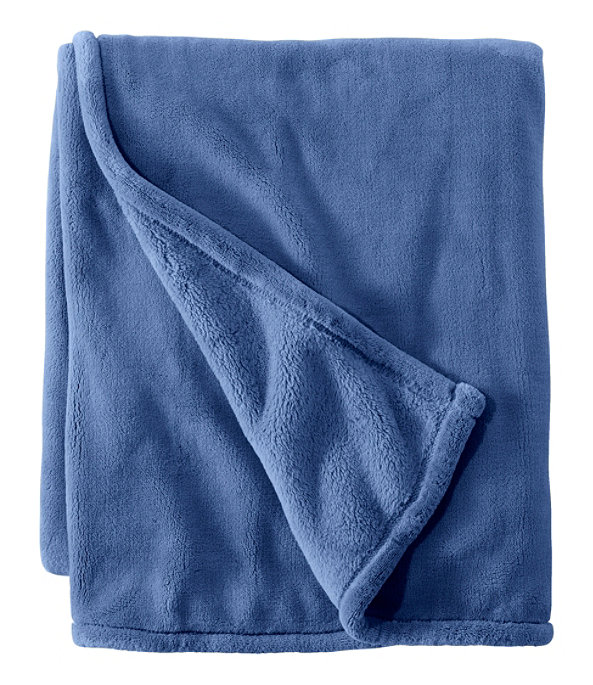 Wicked Plush Throw, Extra-Large, Deep Blue, large image number 0