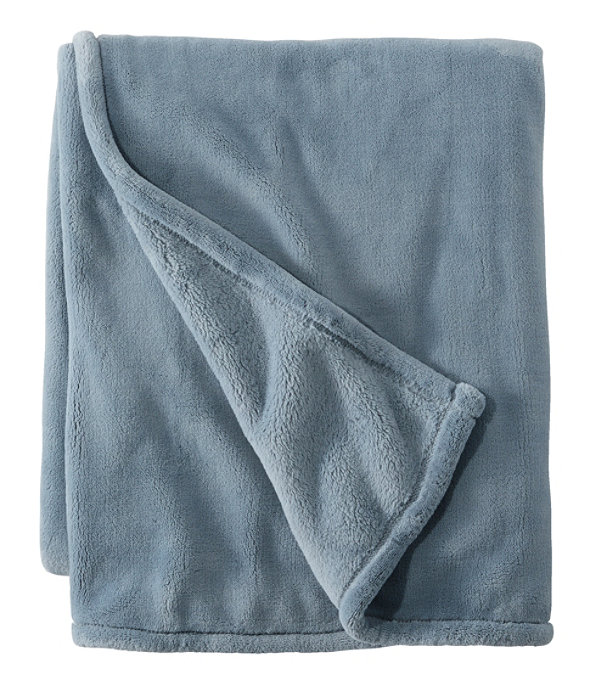 Wicked Plush Throw, Extra-Large, Cadet Blue, large image number 0
