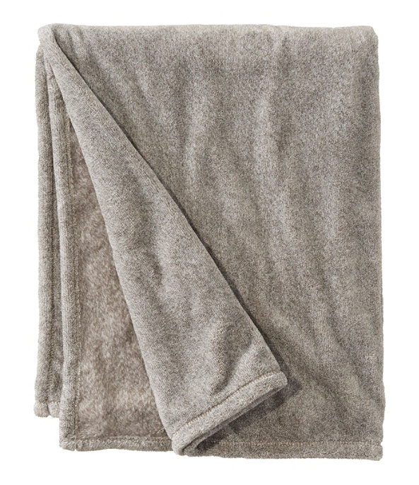 Wicked Plush Throw, Extra-Large, Charcoal Gray Heather, large image number 0