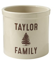 L.L.Bean Personalized Crock