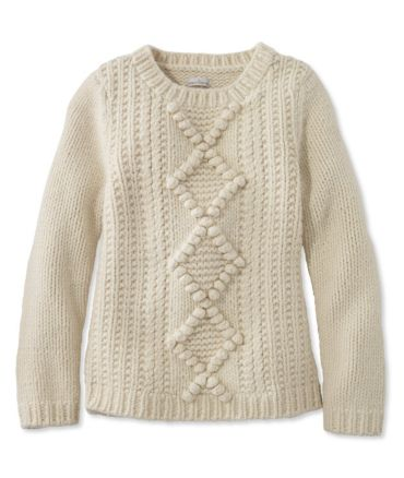Signature Chunky Wool Blend Sweater