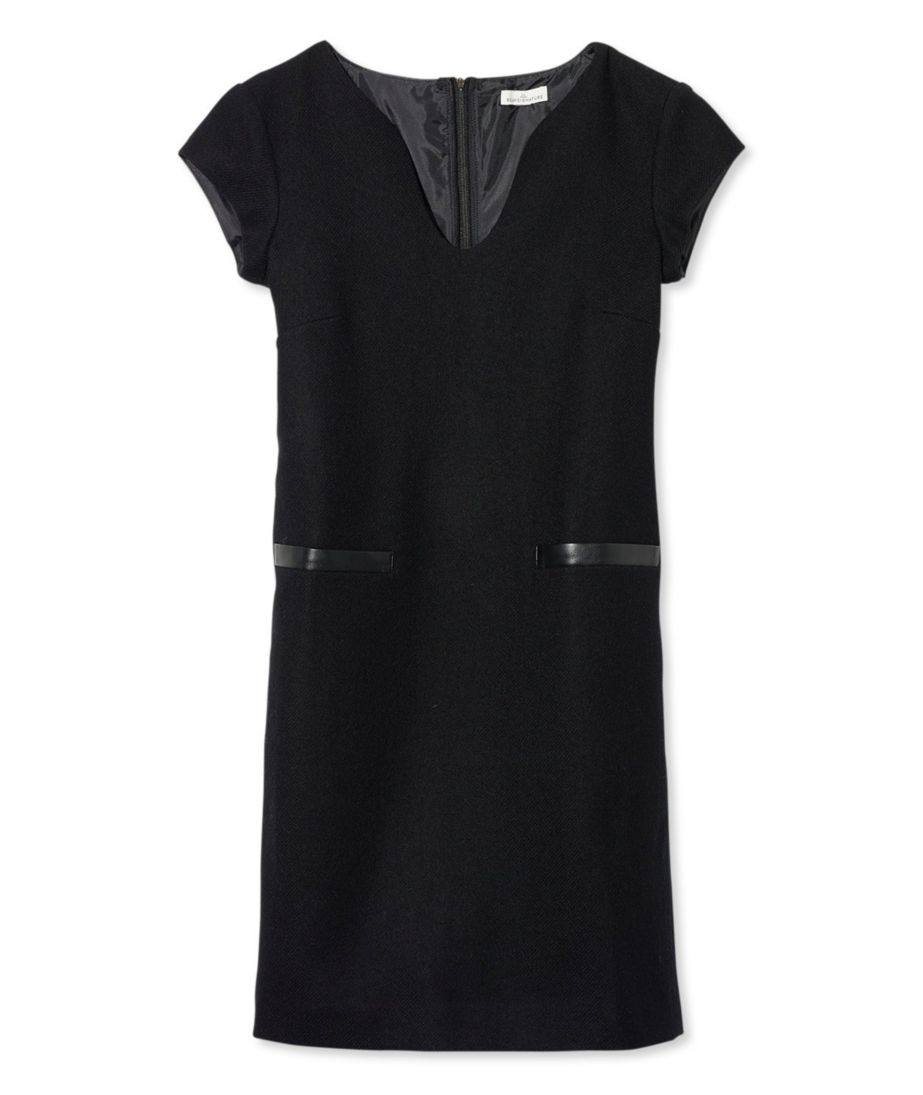 Signature Wool Sheath Dress