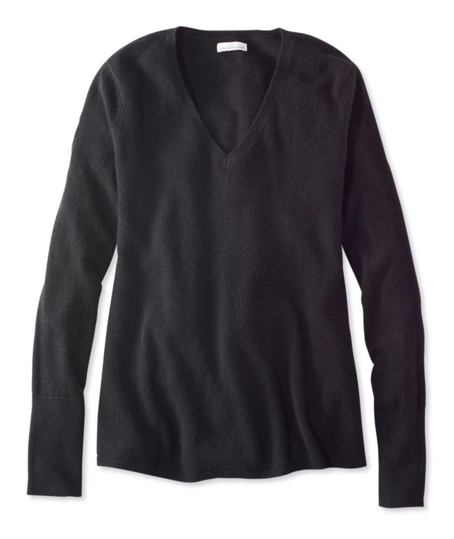 Signature Cashmere Trapeze Sweater