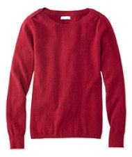Signature Cashmere Boatneck Sweater
