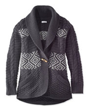 Signature Fair Isle Chunky Cardigan