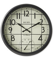 Big Ben Caged Wall Clock