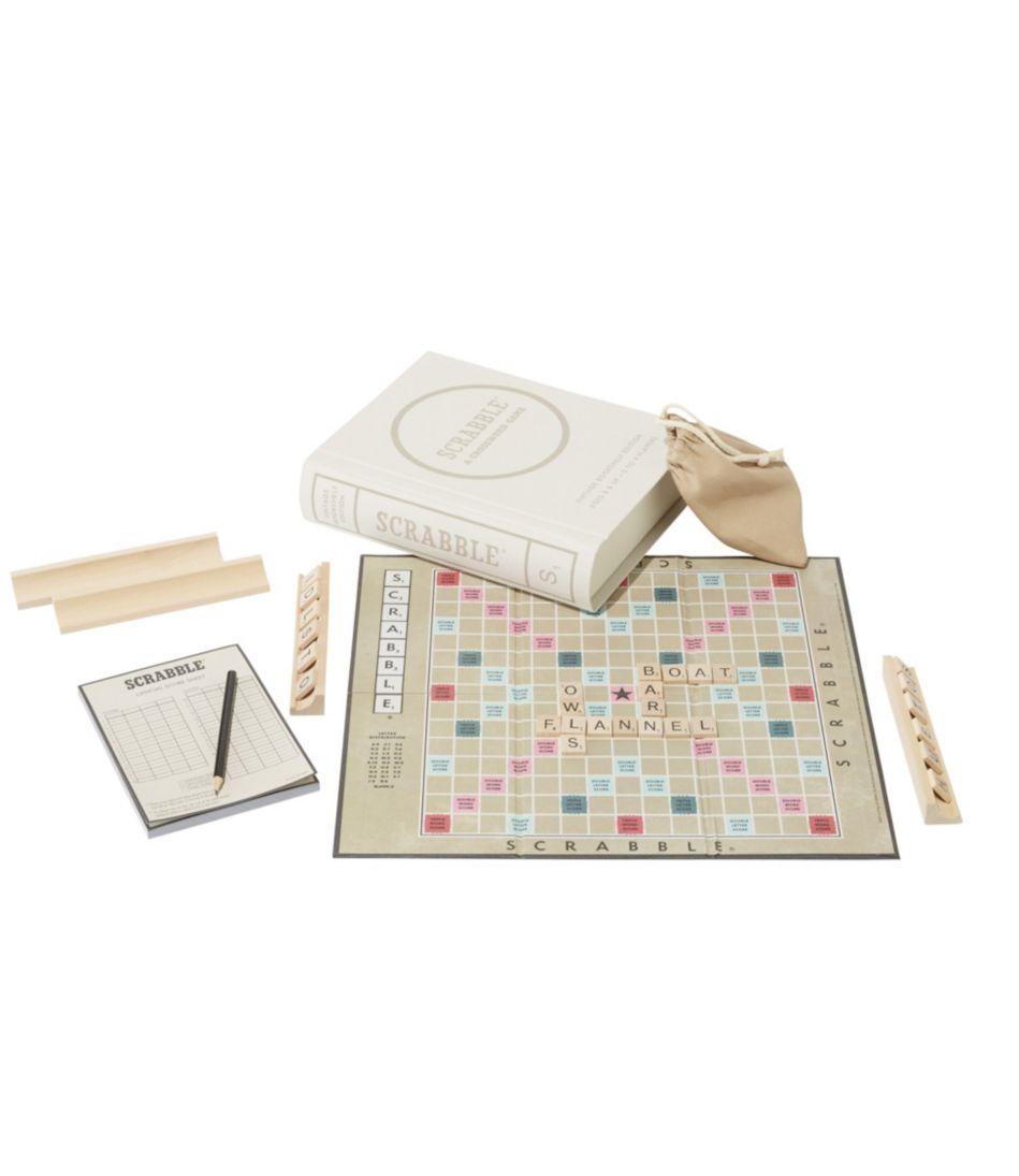 Bookshelf Scrabble