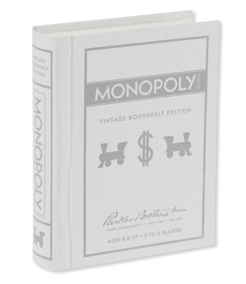Bookshelf Monopoly