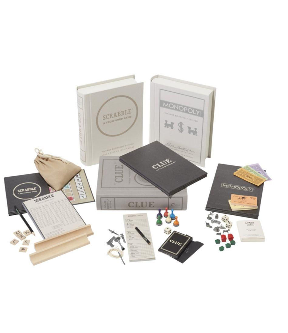 Bookshelf Games, Set of Three